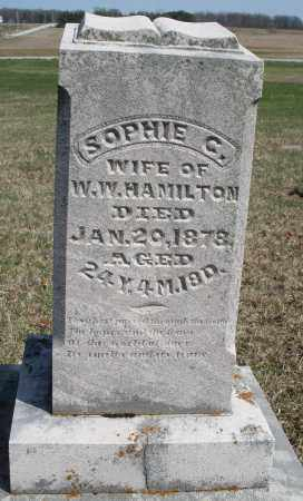 HAMILTON, SOPHIE - Preble County, Ohio | SOPHIE HAMILTON - Ohio Gravestone Photos