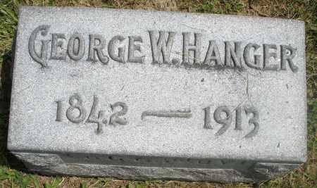 HANGER, GEORGE W. - Preble County, Ohio | GEORGE W. HANGER - Ohio Gravestone Photos