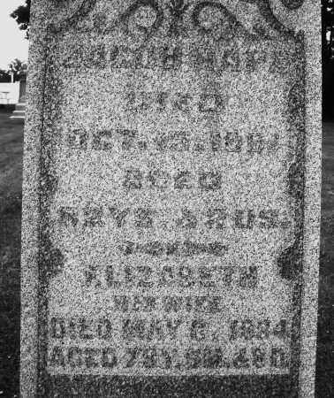 HAPE, ELIZABETH - Preble County, Ohio | ELIZABETH HAPE - Ohio Gravestone Photos