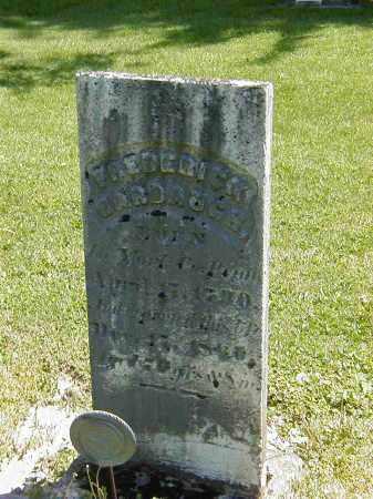 HARBAUGH, FREDRICK - Preble County, Ohio | FREDRICK HARBAUGH - Ohio Gravestone Photos