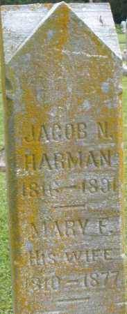 HARMAN, MARY - Preble County, Ohio | MARY HARMAN - Ohio Gravestone Photos