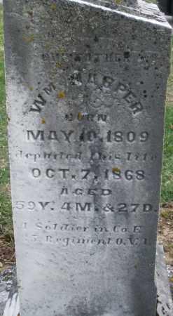 HARPER, WILLIAM - Preble County, Ohio | WILLIAM HARPER - Ohio Gravestone Photos