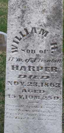 HARPER, WILLIAM H. - Preble County, Ohio | WILLIAM H. HARPER - Ohio Gravestone Photos