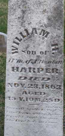 HARPER, WILLIAM H. - Preble County, Ohio | WILLIAM H. HARPER - Ohio Gravestone Photos