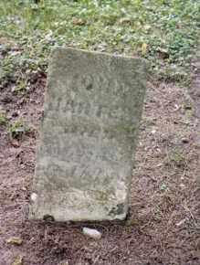 HARTER, JOHN - Preble County, Ohio | JOHN HARTER - Ohio Gravestone Photos