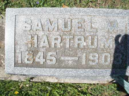 HARTRUM, SAMUEL M. - Preble County, Ohio | SAMUEL M. HARTRUM - Ohio Gravestone Photos