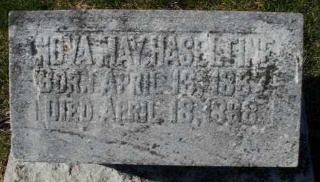HASELTINE, NOVA MAY - Preble County, Ohio | NOVA MAY HASELTINE - Ohio Gravestone Photos