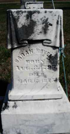 HAVENS, SARAH - Preble County, Ohio | SARAH HAVENS - Ohio Gravestone Photos