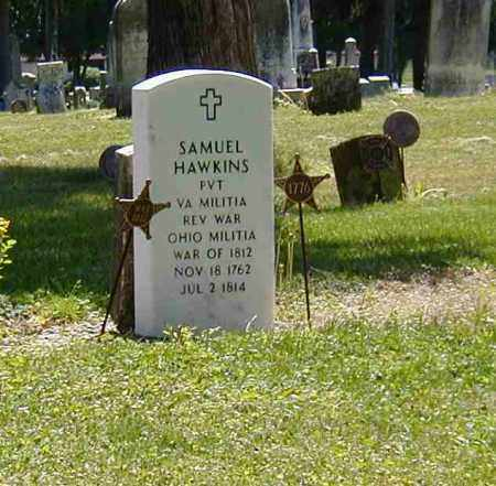 HAWKINS, SAMUEL - Preble County, Ohio | SAMUEL HAWKINS - Ohio Gravestone Photos