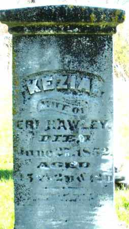 HAWLEY, KEZIA - Preble County, Ohio | KEZIA HAWLEY - Ohio Gravestone Photos