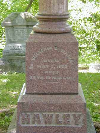 HAWLEY, WILLIAM B., DR. - Preble County, Ohio | WILLIAM B., DR. HAWLEY - Ohio Gravestone Photos