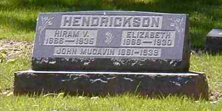 HENDRICKSON, HIRAM V. - Preble County, Ohio | HIRAM V. HENDRICKSON - Ohio Gravestone Photos