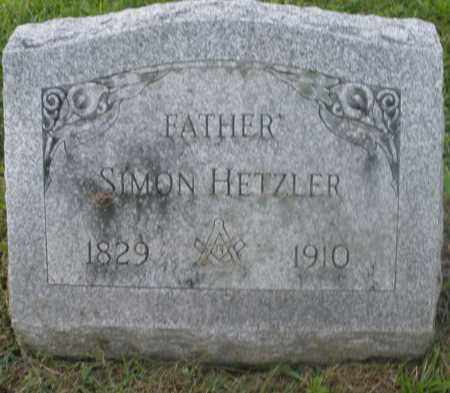 HETZLER, SIMON - Preble County, Ohio | SIMON HETZLER - Ohio Gravestone Photos