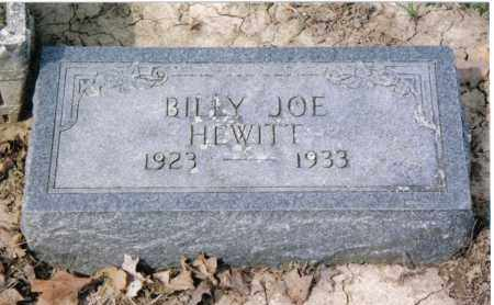 HEWITT, BILLY JOE - Preble County, Ohio | BILLY JOE HEWITT - Ohio Gravestone Photos
