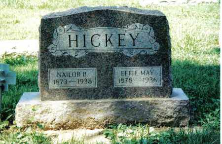 HICKEY, EFFIE MAY - Preble County, Ohio | EFFIE MAY HICKEY - Ohio Gravestone Photos