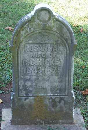 WARDEN HICKEY, ROSANNAH - Preble County, Ohio | ROSANNAH WARDEN HICKEY - Ohio Gravestone Photos