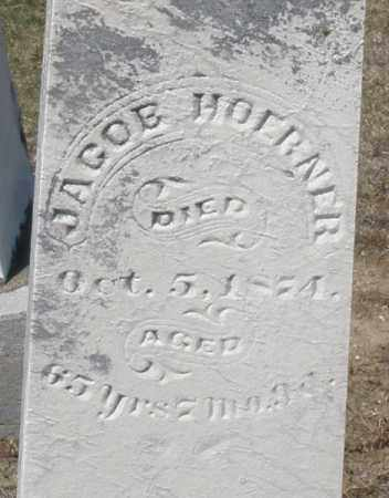 HOERNER, JACOB - Preble County, Ohio | JACOB HOERNER - Ohio Gravestone Photos