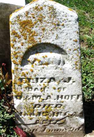 HOFF, ELIZA J. - Preble County, Ohio | ELIZA J. HOFF - Ohio Gravestone Photos
