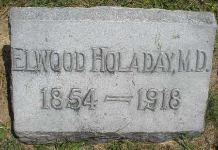 HOLADAY, ELWOOD, M.D. - Preble County, Ohio | ELWOOD, M.D. HOLADAY - Ohio Gravestone Photos