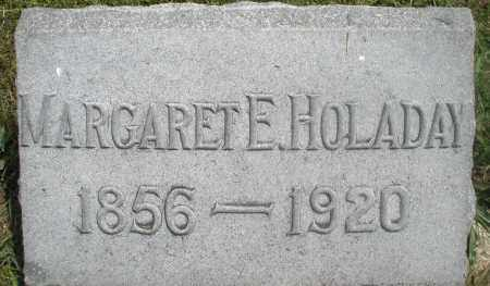 HOLADAY, MARGARET E. - Preble County, Ohio | MARGARET E. HOLADAY - Ohio Gravestone Photos