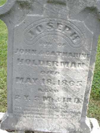 HOLDERMAN, JOSEPH - Preble County, Ohio | JOSEPH HOLDERMAN - Ohio Gravestone Photos