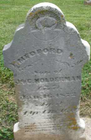 HOLDERMAN, MEDFORD - Preble County, Ohio | MEDFORD HOLDERMAN - Ohio Gravestone Photos