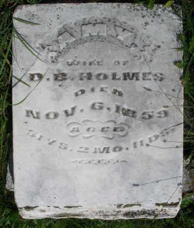 HOLMES, AMY - Preble County, Ohio | AMY HOLMES - Ohio Gravestone Photos