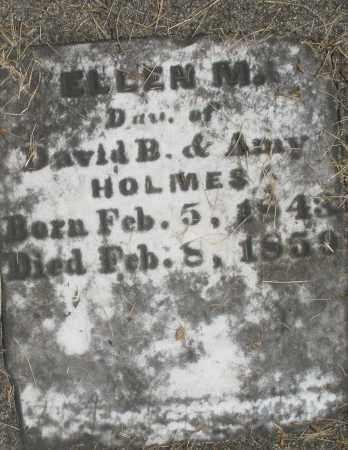 HOLMES, ELLEN M. - Preble County, Ohio | ELLEN M. HOLMES - Ohio Gravestone Photos