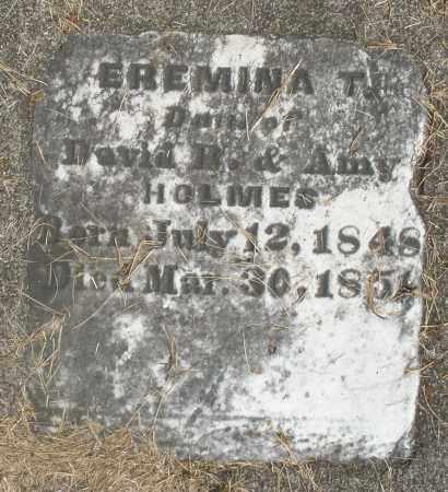 HOLMES, EREMINA T. - Preble County, Ohio | EREMINA T. HOLMES - Ohio Gravestone Photos