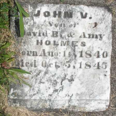 HOLMES, JOHN V. - Preble County, Ohio | JOHN V. HOLMES - Ohio Gravestone Photos