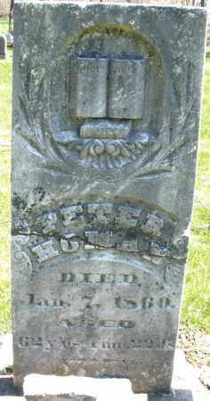 HOMAN, PETER - Preble County, Ohio | PETER HOMAN - Ohio Gravestone Photos