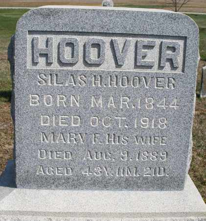 HOOVER, MARY F. - Preble County, Ohio | MARY F. HOOVER - Ohio Gravestone Photos