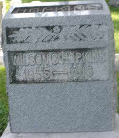 HOPKINS, WILSON C. - Preble County, Ohio | WILSON C. HOPKINS - Ohio Gravestone Photos