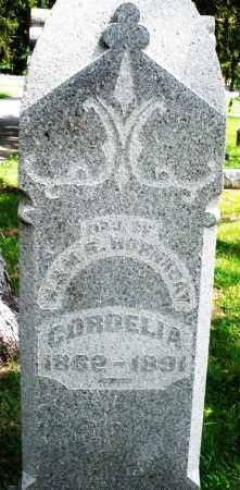 HORNADAY, CORDELIA - Preble County, Ohio | CORDELIA HORNADAY - Ohio Gravestone Photos