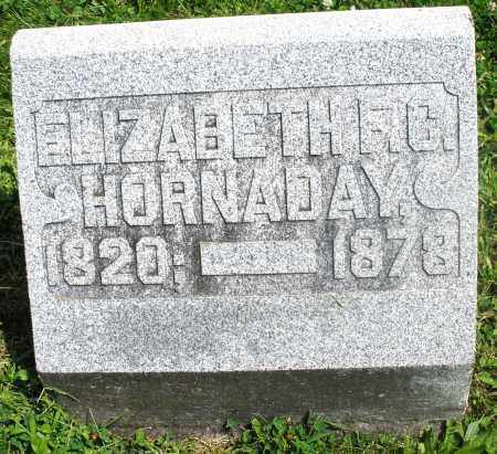 HORNADAY, ELIZABETH F. C. - Preble County, Ohio | ELIZABETH F. C. HORNADAY - Ohio Gravestone Photos