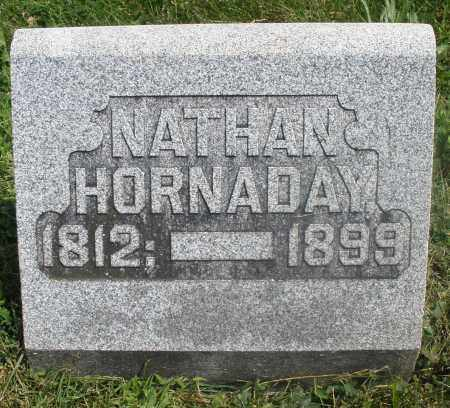 HORNADAY, NATHAN - Preble County, Ohio | NATHAN HORNADAY - Ohio Gravestone Photos