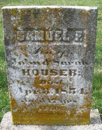 HOUSER, SAMUEL - Preble County, Ohio | SAMUEL HOUSER - Ohio Gravestone Photos