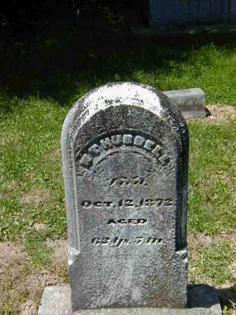 HUBBELL, W.T. - Preble County, Ohio | W.T. HUBBELL - Ohio Gravestone Photos