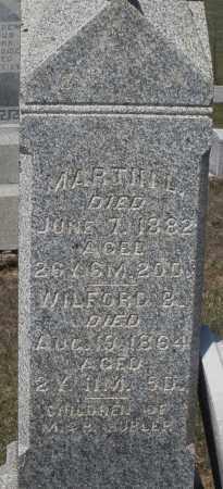 HUBLER, MARTIN L. - Preble County, Ohio | MARTIN L. HUBLER - Ohio Gravestone Photos