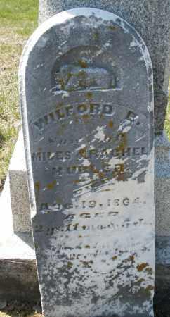 HUBLER, WILFORD B. - Preble County, Ohio | WILFORD B. HUBLER - Ohio Gravestone Photos
