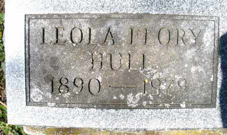 FLORY HULL, LEOLA - Preble County, Ohio | LEOLA FLORY HULL - Ohio Gravestone Photos