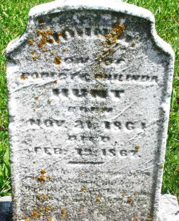 HUNT, JOHN - Preble County, Ohio | JOHN HUNT - Ohio Gravestone Photos