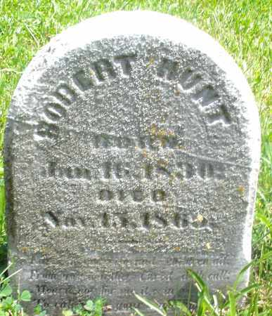 HUNT, ROBERT - Preble County, Ohio | ROBERT HUNT - Ohio Gravestone Photos
