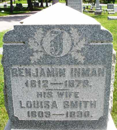 SMITH INMAN, LOUISA - Preble County, Ohio | LOUISA SMITH INMAN - Ohio Gravestone Photos