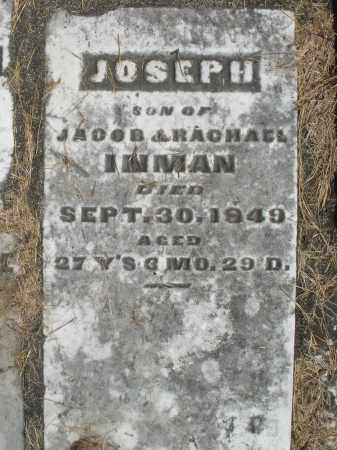 INMAN, JOSEPH - Preble County, Ohio | JOSEPH INMAN - Ohio Gravestone Photos