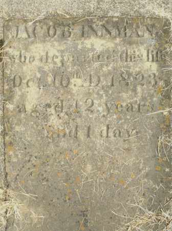 INNMAN, JACOB - Preble County, Ohio | JACOB INNMAN - Ohio Gravestone Photos