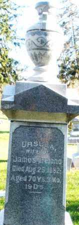 IRELAND, URSULA - Preble County, Ohio | URSULA IRELAND - Ohio Gravestone Photos