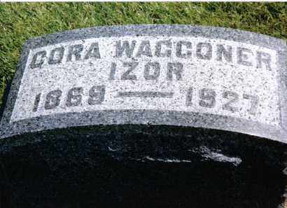 IZOR, CORA - Preble County, Ohio | CORA IZOR - Ohio Gravestone Photos