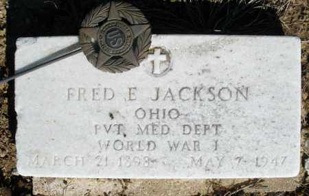 JACKSON, FRED E. - Preble County, Ohio | FRED E. JACKSON - Ohio Gravestone Photos