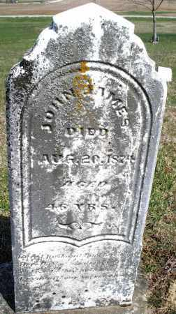 JAMES, JOHN - Preble County, Ohio | JOHN JAMES - Ohio Gravestone Photos